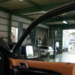 お車の窓のフィルム
