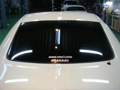 東京都青梅市K様 車 フェアレディZ Z33 カーフィルム施工 シルフィードSC7008 断熱フィルム