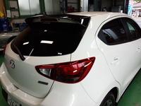 羽村市S様 弊社販売車 新車 DJ5FS デミオ クリーンディーゼル シルフィード 断熱フィルム施工