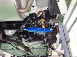 羽村市Rmc ZN6 86 CUSCO リアラテラルリンク&オートレベライザーショートリンク取付作業