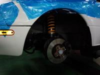 東大和市M様 NA8C ロードスター OHLINS DFV HAL 車高調コンプリートキット 取付