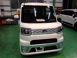 福生市A様 新車 LA700S WAKE Rmcガラスコーティング施工
