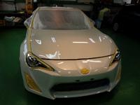 羽村市 Rmc zn6 86 GT LTD G'ZOX リアルガラスコート施工
