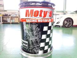 羽村市Rmc ZN6 86 エンジンオイル交換 Moty's M111 5W30 ¥3400-/1L 5.5L使用します