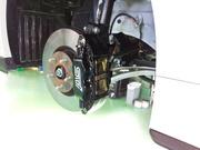 羽村市Rmc VAB WRX STI ブレーキパッド交換 ZONE 18E ロースチール 前後交換
