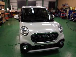 福生市A様 新車 LA250S CAST ACTIVA Rmcガラスコーティング施工