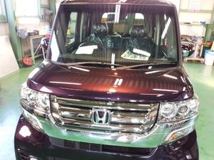 羽村市A様 新車 JF1 Nbox カスタム RMC ガラスコーティング施工