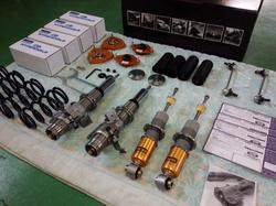 羽村市Rmc ZN6 86 Rmcオリジナルハイパコ仕様 OHLINS DFV 車高調 コンプリートキット取付