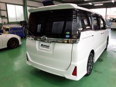昭島市T様 新車 ZRR80W VOXY シルフィード 断熱フィルム」施工 SC-7015 リア全面 ダルスモーク