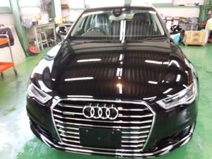 羽村市A様 新車 アウディ A6 アバント Rmcガラスコーティング施工