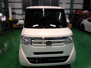 羽村市A様 新車 JF1 Nbox RMC ガラスコーティング施工