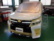 昭島市T様 新車 ZRR80W VOXY G'ZOXリアルガラスコート施工