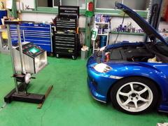 三鷹市N様 SE3P RX-8 車検 車検整備 光軸調整 オイル交換 WAKO'S 4CT-S 5W40