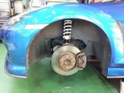 三鷹市N様 SE3P RX-8 HKS HIPERMAX Ⅳ GT 車高調キット取付作業