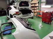 羽村市Rmc ZN6 86 TRD エアロ取付 フロントスポイラー・サイドスポイラー・リアバンパースポイラー