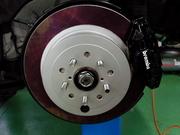 羽村市Rmc ZN6 86 brembo ブレーキキャリパー取付 BFMフルブラスト キャリパーブラケット取付