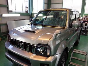 日高市K様 弊社販売車 新車 JB43W ジムニーシエラ ランドベンチャー G'ZOXハイパービュー施工