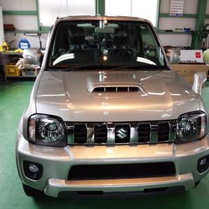 日高市K様 弊社販売車 新車 JB43W ジムニーシエラ ランドベンチャー G'ZOXリアルガラスコート施工