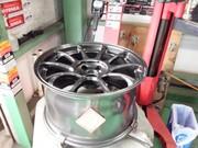 青梅市Y様 弊社販売車 FD3S RX-7 RAYS ZE40 MM 8.5J/9.5J-17 & BS POTENZA RE-71R 新品組込
