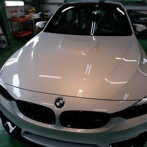 Rmc NEWデモカー BMW F80 M3 LCIモデル G'ZOXリアルガラスコート施工