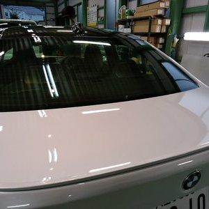 Rmc NEWデモカー BMW F80 M3 LCIモデル シルフィード断熱フィルム トウメイ断熱フィルムFGR-500 全面施工