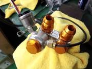 小平市H様 ZC32S スイフトスポーツ Defi ADVANCE A1 水温・油温・油圧メーター取付 60Φ3連メーター