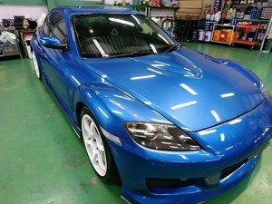 Rmc販売車 H17 SE3P RX-8 F6 ナビ ETC HKS車高調 FGKマフラー MS F/S/Rエアロ GTウイング