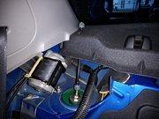 日の出町O様 GDB インプレッサWRXSTI リヤのTEIN車高調減衰調整可能に加工