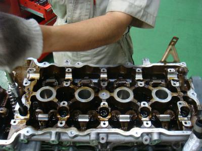 羽村市 Rmc ニッサン シルビア S15 SR20DET エンジン分解作業