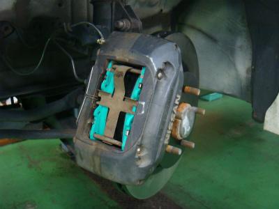 あきる野市A様 S15 シルビア ER34キャリパー&リア2ポット インドラム化 ブレーキチューン!