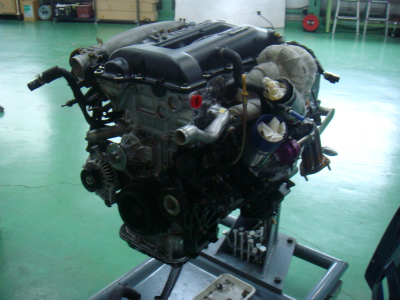 羽村市 Rmc ニッサン シルビア S15 SR20DET リビルトエンジン リビルトタービン 補機類組み付け