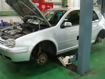 東京都青梅市W様 VWゴルフ 車検 車検整備
