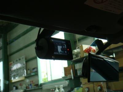 東京都羽村市M様 EK9 シビック タイプR YUPITERU ドライブレコーダー DRY-FH51 取付