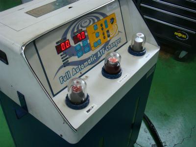 東京都青梅市T様 SX-4 トルコン太郎 ATFフラッシング交換 WAKO&#39S セーフティーS(ATF)