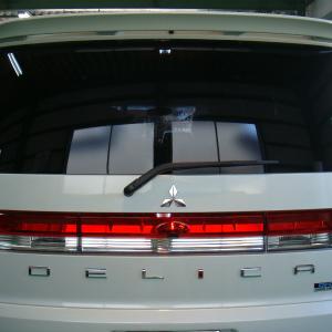 東京都青梅市T様 弊社販売車 新車 デリカD5 クリーンディーゼル 断熱フィルム シルフィード SC7008&FGR500施工