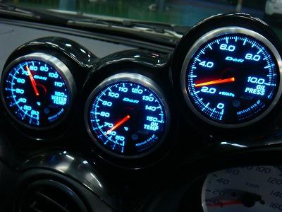 八王子市 K様 シルビア S15 スペックS デフィ アドバンスBF 油温計  インマニ計 取付