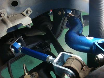 羽村市 Rmc S15 シルビア CUSCO ピロ調整式 アッパーアーム類 交換 アライメント調整