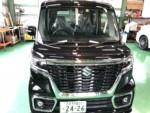 羽村市M様 弊社販売車 新車 MK53S スペーシアカスタム G'ZOXリアルガラスコート施工