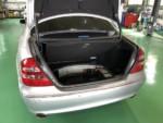 羽村市N様 W211 Mベンツ E350 バッテリー交換作業❗️
