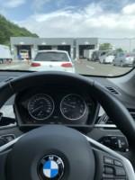 青梅市Y様弊社販売車BMWF48X1 新規車検通検と登録