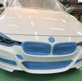 昭島市T様BMWF30 320i G'ZOXリアルガラスコート施工作業❗️