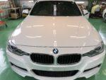 昭島市T様BMWF30 320i G'ZOXリアルガラスコート施工作業完了!