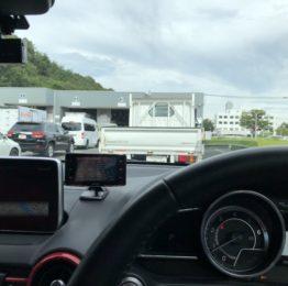 羽村市S様DJ5FSデミオ車検通検に八王子陸運局に来てます❗️