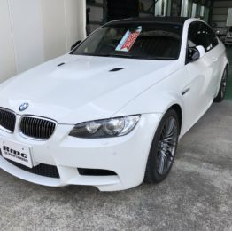 檜原村T様 弊社販売車 BMW E92 M3 LCI 納車整備作業❗️