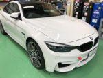 (株) RMCデモカーBMWF82M4明日FSW BMWドライビングレッスン参加に向けて準備❗️