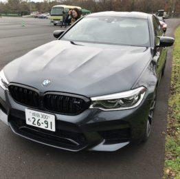FSW BMWドライビングレッスン 新型車試乗会 M5COMPETITION