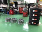 デモカーBMW G01 X3 Xdrive20d M sport スタッドレスタイヤ組込作業‼️
