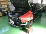 青梅市Y様BMWF48X1Xdrive18dXLINE デイライト他コーディング作業‼️