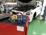 青梅市T様BMWF30320dM sport車検整備作業‼️