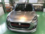 飯能市N様弊社販売車🚗新車ZD53S SWIFT HYBRID RS G'ZOXハイパービューウィンドウ撥水コーティング施工作業‼️